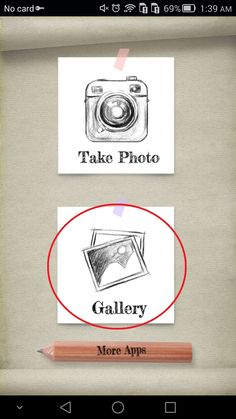 "1. Tap ""Gallery""