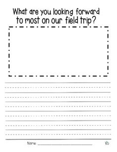 field trip writing assignment