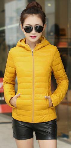Hooded Zip Down Jacket YRB0389 £34.00