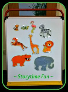 Storytime ABC's: Flannel Friday: A Rumble in the Jungle