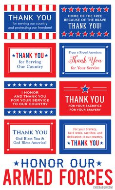 Free printable Honor Our Armed Forces cards Veteran's Day is the perfect time to thank a solider! Check out these free printable cards for a quick and easy craft on Veteran's Day! Free Veterans Day, Veterans Day Thank You, Veterans Day Quotes, Veterans Day Activities, Veterans Day Gifts, Work Activities, Viria, Free Printable Cards, Free Printables