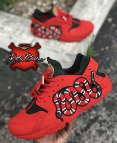 """Custom """"Beach"""" Nike Air Max 95 – Katty Customs"""