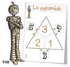 Jeu : la pyramide des additions - Bout de gomme