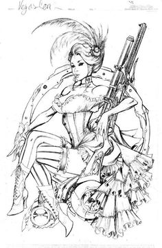 1000 images about coloriage personnage on pinterest - Dessin saloon ...