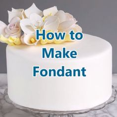How to Make Rolled Fondant A Recipe for Homemade Fondant is part of Homemade fondant - Why would you need to know how to make rolled fondant Commercial fondant does not taste good Making it is worth the time & is surprisingly easy to do Cake Decorating Videos, Cake Decorating Techniques, Cookie Decorating, Cake Decorating For Beginners, Cake Decorating With Fondant, Decorating Ideas, Fondant Decorations, Frosting Recipes, Buttercream Frosting