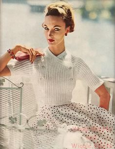 50s Evelyn Tripp. 1950s fashion