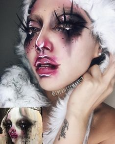 Dustin Bailard makeup art @theangelmakeup
