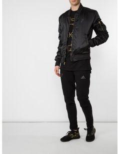 6d8db0a498ce Adidas Originals - Black Tango Pogba Bomber Jacket for Men - Lyst