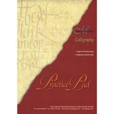 Manuscript A4 Calligraphy Practice Pad
