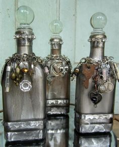 altered bottles | Twigs