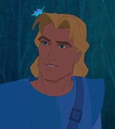 """John Smith is the deuteragonist in Pocahontas and a supporting character in its sequel. He is a renowned English explorer that took part in Governor Ratcliffe's expedition to Virginia, where he would meet and fall in love with Pocahontas. Smith is very loosely based on the actual historical figure of the same name. John Smith is a handsome, young, English explorer, adventurer, and soldier who is shown to already be a legend when he first appears, as Thomas mentions that there are """"amazing... Disney Wiki, Disney Parks, Disney Movies, Disney Men, Disney Pocahontas, Disney Mural, Pocahontas And John Smith, Disney California, Princesas Disney"""