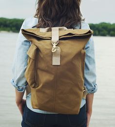 Day Bag Canvas Backpack | Women's Bags & Accessories | Talant | Scoutmob Shoppe | Product Detail