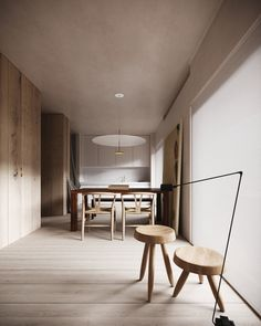 Apartment INA is designed by P-S-H and visualized by Chigidin. 3d Interior Design, Apartment Interior Design, Design Room, 3d Living Room, Modern Scandinavian Interior, Sketchup Pro, 3d Max Vray, 3d Texture, Architecture Visualization