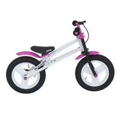 Joovy BicycooBMX Balance Bike - Pink by JOOVY. Save 29 Off!. $99.99. From the Manufacturer                The Joovy BicycooBMX is a durable, well designed balance bike for kids 3 years and above. The frame is made of aluminum so it is strong and lightweight just like high end bikes. The lightweight frame makes controlling the bike much easier for kids, unlike the heavy wooden and steel versions. The tires are pneumatic and refillable. Many balance bikes on the market use EVA plasti...