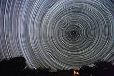 star portal- time lapse photography
