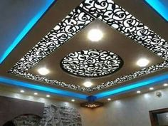 4 Irresistible Clever Hacks: False Ceiling Design For Salon false ceiling bedroom crown moldings.False Ceiling Home Decorating Ideas false ceiling diy spaces. House Ceiling Design, Ceiling Design Living Room, Bedroom False Ceiling Design, False Ceiling Living Room, Home Ceiling, Ceiling Decor, Living Room Designs, Ceiling Lights, Living Rooms