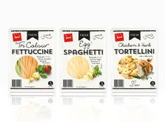 Designed by Brother Design Ltd. For Pams Fresh Pasta. Auckland (New Zealand). Source: thedieline.com/blog (2014, May)