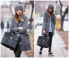#fashion #fashionista @Nicoletta Scent of Obsession CAPPOTTO IN LANA PER UN CASUAL OUTFIT - Fashion blogger italy
