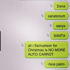 The 20 Funniest Christmas Autocorrects