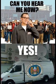 #Verizon & #NSA - spying on America
