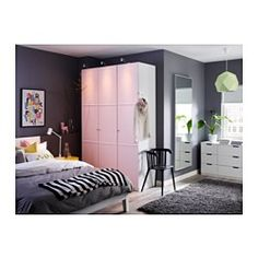 IKEA - HOVET, Mirror, , Can be hung horizontally or vertically.Mounting fixtures are included to prevent the mirror from sliding on the floor when leaning against a wall.Safety film  reduces damage if glass is broken.