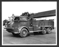 Experimental Crash Tender by American LaFrance 1950s