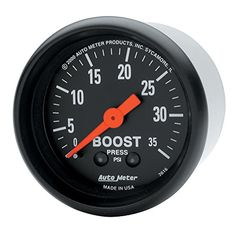 Auto Meter 2616 ZSeries Mechanical Boost Gauge * Details can be found by clicking on the image.