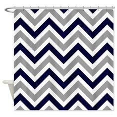 Zigzag' Shower Curtain on CafePress.com