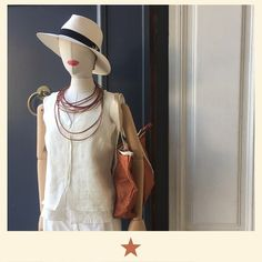 Get on the bright side! Luminous double shirt by @bacomilano with white Panama hat and @bensimoncollection orange bag ⭐️ #bacomilano #shopping #milano #shop #shopourinstagram #shoponline #shoplocal #fashion #instafashion #girl #womanstyle #womanfashion #styles #style #fashionmagazine #ss17collection #dress #spring #summer #summerdress #beachlife