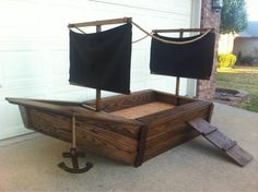 Pirate ship bed!