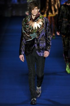 Etro | Fall 2013 Menswear Collection | Style.com