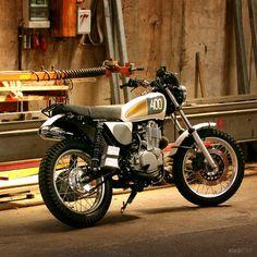 Yamaha SR400 'Yard Built' by the German motorcycle workshop Benders.