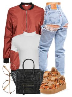 """""""9 29 16"""" by miizz-starburst ❤ liked on Polyvore featuring WearAll and Puma"""