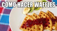 Cómo Hacer Waffles Caseros