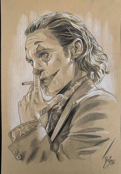 Joker Drawings, Batman Drawing, Dark Art Drawings, Cool Drawings, Joker Images, Joker Pics, Joker Art, Batman Comic Wallpaper, Harley Quinn Drawing
