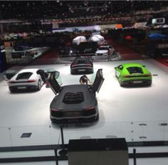 Sytner's resident Stig Takes to the Geneva Motor Show All We Know, Geneva Motor Show, Used Cars, Singing