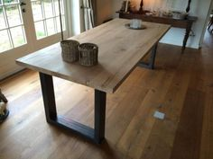 Tafel 6 Personen : Tafel steigerbuis als bureau huisje weltevree pinterest pipe table