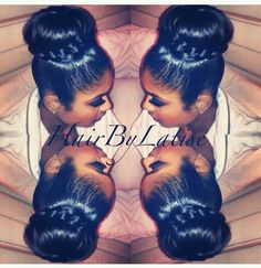 Hair by Latise My Hairstyle, Weave Hairstyles, Girl Hairstyles, Hairstyle Ideas, Wedding Hairstyle, Curly Hair Styles, Natural Hair Styles, Ponytail Styles, Bun Styles