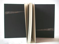 Susan Sontag 'Against Interpretation'2nd version French binding :Cover of 2 layers. The decoration leather was pressed and dyed with metal paint.It looks like rustic brass piece. This is another design of Susan Sontag 'Against Interpretation'.In this...