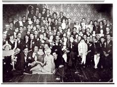 Zabawa w Hotelu Herz w Oświęcimiu (prawdopodobnie 1925 r.) *** New Year's Party at Hotel Herz in Oświęcim (probably 1925)