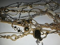 Jewelry vintage mixed vintage jewelry lot tangled by TigersPlace, $10.00