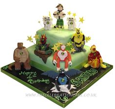 Specialised Celebration Cakes - Ben 10 Birthday Cake