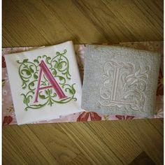 Gracie Monogram Alphabet Designs by JuJu machine embroidery designs