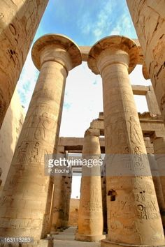 Temple of Karnak Hypostyle Hall, Great Temple of A
