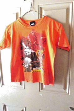 Kung Fu Panda Tee Shirt Orange Size 7 #DreamWorks #Everyday