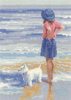 Wave Watching - Memories Cross Stitch kit