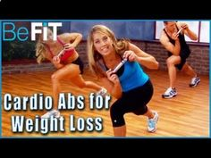 Ab Workout for Weight Loss with Denise Austin from the Shrink Belly Fat Series is a supercharged, 15-minute ab-sculpting cardio routine that is designed to b... LOVED LOVED LOVED THIS....USES WEIGHTS .....ABOUT 16 MINS....DOES NOT KEEP REPEATING MOVES....