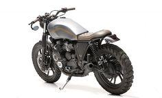 Yamaha XJ750 Scrambler by Dream Wheels Heritage #motorcycles #scrambler #motos | caferacerpasion.com