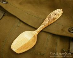 Great spoon by Paul Adamson.