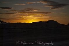 Sunset in Coober Pedy, South Australia